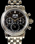 PATEK PHILIPPE 5004G SPLIT SECONDS CHRONOGRAPH PERPETUAL CALENDAR 18K WHITE GOLD