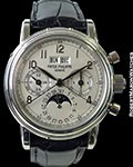 PATEK PHILIPPE 5004P *FIRST 5004 EVER MADE* PLATINUM SPLIT-SECONDS CHRONO PERPETUAL CALENDAR