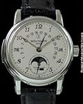 PATEK PHILLIPE 5016P PLATINUM MINUTE REPEATER PERPETUAL CALENDAR TOURBILLON