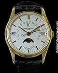PATEK PHILIPPE 5050J AUTOMATIC PERPETUAL CALENDAR 18K CENTER SECONDS