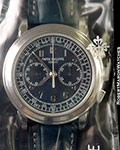 PATEK PHILIPPE 5070P PLATINUM CHRONOGRAPH SEALED NEW BOX & PAPERS
