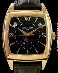 PATEK PHILIPPE 5135R BLACK DIAL LIMITED ED FOR MERCURY OF RUSSIA 18K ROSE AUTOMATIC ANNUAL CALENDAR