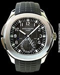 PATEK PHILIPPE AQUANAUT TRAVEL TIME 5164A BOX PAPERS NEW