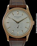PATEK PHILIPPE CALATRAVA 5196R 18K ROSE BOX PAPERS