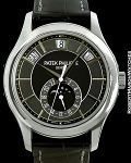 PATEK PHILIPPE 5205G ANNUAL CALENDAR 18K WHITE GOLD AUTOMATIC GRAY DIAL