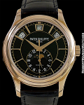 PATEK PHILIPPE TIFFANY 5205R 18K ROSE ANNUAL CALENDAR AUTOMATIC NEW BOX & PAPERS