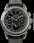 PATEK PHILIPPE 5271 PLATINUM SAPPHIRES 1 OF 5 MADE