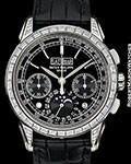 PATEK PHILIPPE 5271P PLATINUM PERPETUAL CALENDAR CHRONOGRAPH DIAMOND CASE NEW