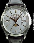 PATEK PHILIPPE 5496P PLATINUM RETROGRADE AUTOMATIC PERPETUAL CALENDAR NEW
