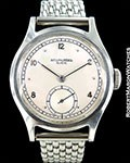 PATEK PHILIPPE CALATRAVA 565 STEEL SCREW BACK CA 1945