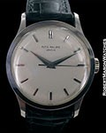 PATEK PHILIPPE 570 UNPOLISHED 18K WHITE GOLD CALATRAVA 1968