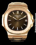 PATEK PHILIPPE 5711/1R NAUTILUS 18K ROSE NEW BOX PAPERS