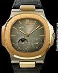 PATEK PHILIPPE NAUTILUS 5712GR 18K WHITE & ROSE GOLD
