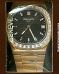 PATEK PHILIPPE 5723/1R 18K ROSE GOLD NAUTILUS BAGUETTE DIAMOND BEZEL 2X SEALED NEW