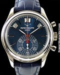 PATEK PHILIPPE 5960G LIMITED EDITION FOR MERCURY OF MOSCOW AUTOMATIC ANNUAL CALENDAR CHRONOGRAPH NEW