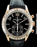 PATEK PHILIPPE 5961R 18K ROSE ANNUAL CALENDAR CHRONOGRAPH NEW
