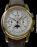 PATEK PHILIPPE 5970J 18K PERPETUAL CALENDAR CHRONOGRAPH NEW BOX & PAPERS