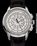 PATEK PHILIPPE 5975G 175TH ANNIVERSARY AUTOMATIC CHRONOGRAPH 18K WHITE NEW