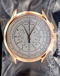 PATEK PHILIPPE 5975R 175TH ANNIVERSARY AUTOMATIC CHRONOGRAPH 18K ROSE NEW