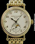 PATEK PHILIPPE LADIES' COMPLICATIONS 7121/1J MOONPHASE 18K NEW