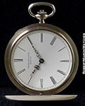 PATEK PHILLIPE 865 POCKET WATCH 18K ENAMEL DIAL