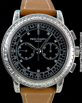 PATEK PHILIPPE FULL BAGUETTE WITH DEPLOY BOX PAPERS 18K WHITE GOLD