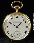 PATEK PHILIPPE POCKET WATCH 18K for T. & E. DICKINSON & CO. BUFFALO, NY