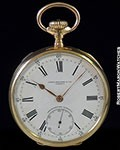 PATEK PHILLIPE GONDOLO POCKET WATCH 18K ENAMEL DIAL