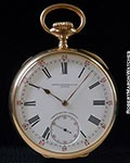 PATEK PHILIPPE POCKET WATCH 18K ROSE CHRONOMETRO GONDOLO