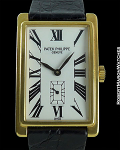 PATEK PHILIPPE GONDOLO 18K VINTAGE RECTANGULAR CASE BOX & PAPERS