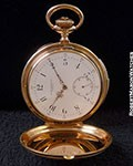 PATEK PHILIPPE MINUTE REPEATER POCKET WATCH 18K ROSE MERRICK, WALSH & PHELPS