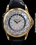 PATEK PHILIPPE 5110J 18K WORLDTIME AUTOMATIC NEW ROSE PATINA