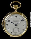 PATEK PHILIPPE SPAULDING & CO 18K POCKET WATCH MINUTE REPEATER 1940s