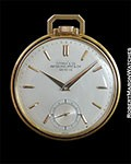 PATEK PHILIPPE TIFFANY 18K YG POCKET WATCH