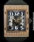 RICHARD MILLE RM016 18K ROSE GOLD DIAMOND EXTRA-FLAT AUTOMATIC NEW