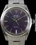 ROLEX REF 1002 OYSTER PERPETUAL AIR-KING TROPICAL PURPLE DIAL
