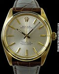 ROLEX TIFFANY 1002 18K AUTOMATIC CHRONOMETER