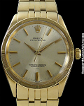 ROLEX REF 1007 OYSTER PERPETUAL 14K GAY FRERES BRACELET MINT