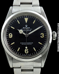 ROLEX REF 1016 EXPLORER MINT CONDITION WITH MATCHING PATINA DIAL AND HANDS