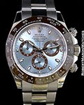 ROLEX 116506 PLATINUM DAYTONA AUTOMATIC BOX PAPERS
