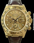 ROLEX DAYTONA 116518 AUTOMATIC 18K NEW