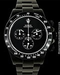 ROLEX 116520 DAYTONA BAMFORD BLACK STEEL NEW