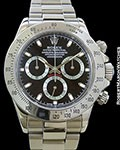 ROLEX DAYTONA 116520 STEEL BOX PAPERS