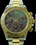 ROLEX DAYTONA 116523 18K/STEEL TAHITIAN MOTHER OF PEARL
