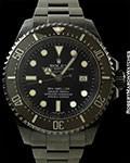 "ROLEX 116600 DEEP SEA SEA-DWELLER BLACK ""X"" SAM SIMON PROVENANCE"