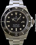 ROLEX 116600 SEA-DWELLER CERAMIC BEZEL STEEL NEW BOX & PAPERS