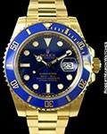 ROLEX 116618 SUBMARINER 18K CERAMIC NEW BOX & PAPERS