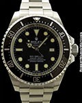 ROLEX DEEP SEA SEA-DWELLER 116660 STEEL BOX & PAPERS