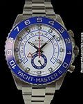 ROLEX 116680 YACHMASTER II PANAMA CANAL STAINLESS AUTOMATIC RARE !!
