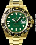 ROLEX 116718 GMT MASTER II 18K AUTOMATIC